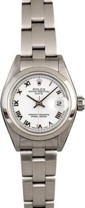 Rolex Lady Datejust 79160 White Roman Dial