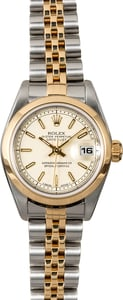 Rolex Lady Datejust 79163 Ivory Jubilee Dial