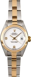 Rolex Lady Datejust 79163 White Dial