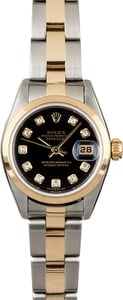 Women's Rolex Datejust 79163 Diamond Dial
