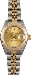 PreOwned Rolex Datejust 79163 Champagne Dial