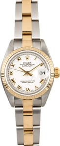 Rolex Lady-Datejust 79163 White