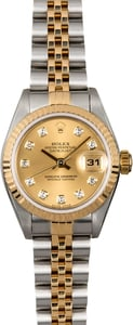 Rolex Diamond Ladies Datejust 79173
