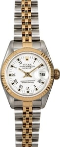 Rolex Ladies Datejust 79173 White Arabic