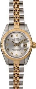 Rolex Ladies Datejust 79173 Slate Roman Dial