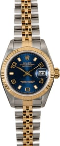 Rolex Ladies Datejust 79173 Blue Dial