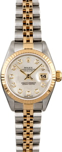 Rolex Lady Datejust 79173 MOP Diamond Dial