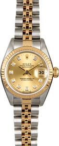 Ladies Rolex Datejust 79173 Diamonds