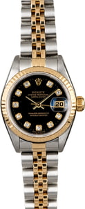 Rolex Lady Datejust 79173 Champagne Dial with Diamonds