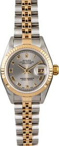 Women's Rolex Datejust 79173 Rhodium DIal