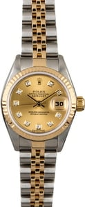 Ladies Rolex Datejust 79173 with Diamonds