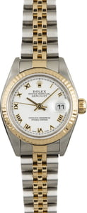 Used Rolex Lady Datejust 79173 White Index Dial