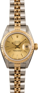 Pre Owned Rolex Datejust 79173 Champagne Index Dial