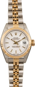 Pre Owned Rolex Datejust 79173 White Index Dial