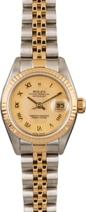 Pre-Owned Rolex Datejust 79173 MOP Decorated Dial
