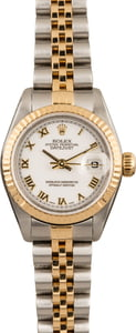 Pre Owned Rolex Datejust 79173 Roman Dial