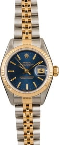 Datejust Ladies Rolex 79173 Blue