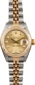 Pre Owned Rolex Lady Datejust 79173 Diamond Dial