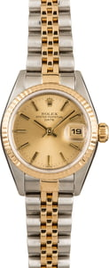 Used Two Tone Jubilee Rolex Date 79173