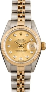Pre-Owned Rolex Ladies Datejust 79173 Diamond Dial
