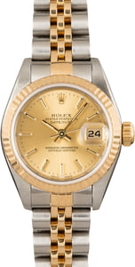 Datejust Ladies Rolex 79173 Champagne