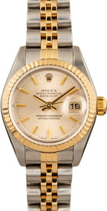 Rolex Lady-Datejust 79173 Silver Dial