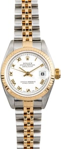 Rolex Lady-Datejust 79173 White Roman Dial