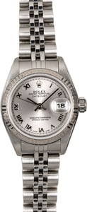 Rolex Lady-Datejust 79174 Silver Roman Dial