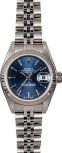 Rolex Lady Datejust 79174 Blue Dial