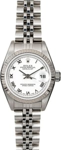 Rolex Ladies Datejust 79174 White Roman Dial