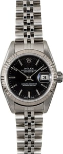 Rolex Ladies Datejust 79174 Black Dial