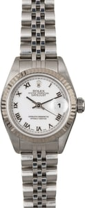 Rolex Lady Datejust 79174 White Roman Dial