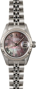 Rolex Lady Datejust 79174 Black Mother of Pearl