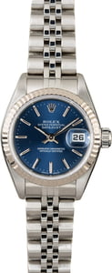 Rolex Datejust 79174 Blue Dial