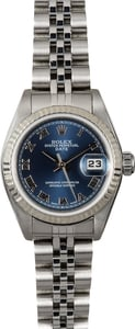 Rolex Lady-Datejust 79174 Blue Roman Dial
