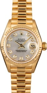 Pre Owned Rolex President 79178 Diamond Dial