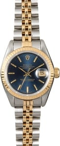 Rolex Lady-Datejust Blue 69173