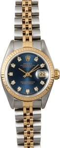 Rolex Lady-Datejust Blue Diamond 69173