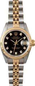 Rolex Lady-Datejust Diamond 69173 Black