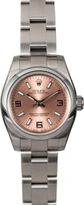 PreOwned Rolex Oyster Perpetual 176200 Pink Dial