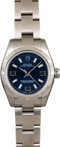 Ladies Rolex Oyster Perpetual 176210 Blue