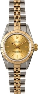 Rolex Ladies Oyster Perpetual 67193 Certified PreOwned