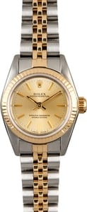 Rolex Lady Oyster Perpetual 67193 Champagne Dial