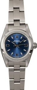 Rolex Ladies Oyster Perpetual 76080 Steel Oyster
