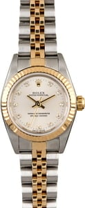 Rolex Lady Oyster Perpetual 76193 Diamonds