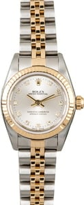 Women's Rolex Oyster Perpetual 76193 Diamonds