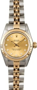 Rolex Lady Oyster Perpetual 76193 with Diamonds