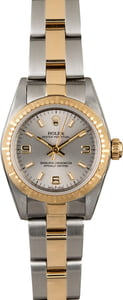 Rolex Lady Oyster Perpetual 76243 Two Tone Oyster