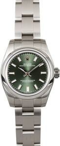 Rolex Lady Oyster Perpetual 176200 Olive Green