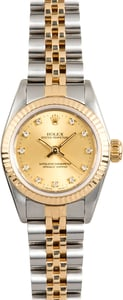Rolex Lady Oyster Perpetual 67193 Diamond